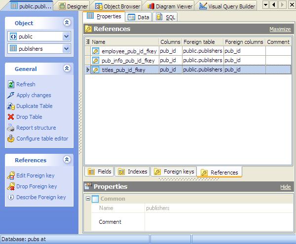 Database tools for MySQL, SQL Server, PostgreSQL, SQLite, Oracle