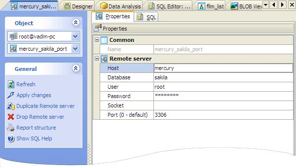 MySQL Admin Tool - MySQL Client for Windows by SQL Maestro Group