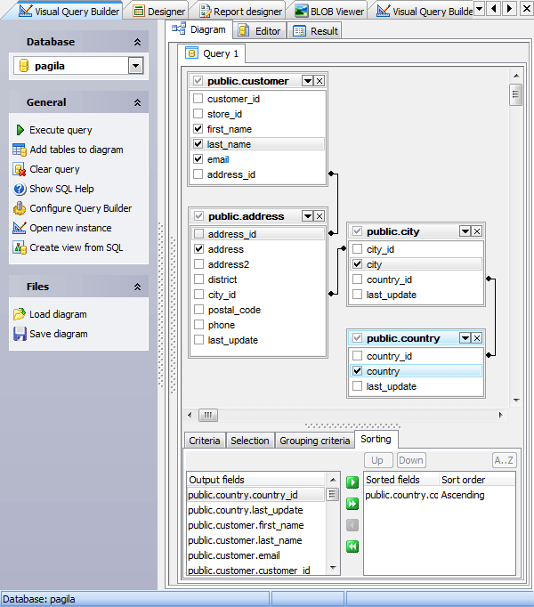 Oracle Query Builder - Oracle SQL Editor by SQL Maestro Group