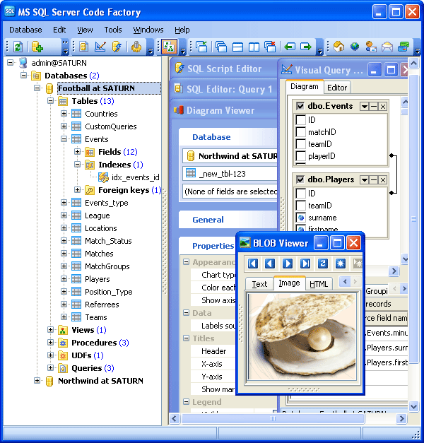 MS SQL Code Factory 12.3