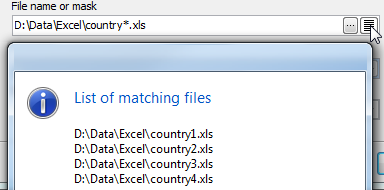 Import data from multiple files