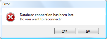 Disconnect notification