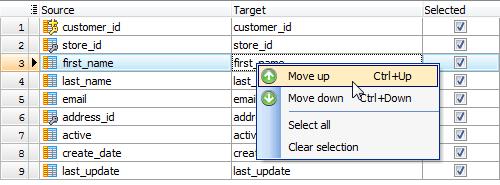 Oracle database dump