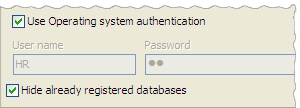 Use OS authentication