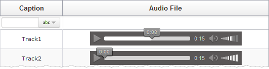 External Audio File